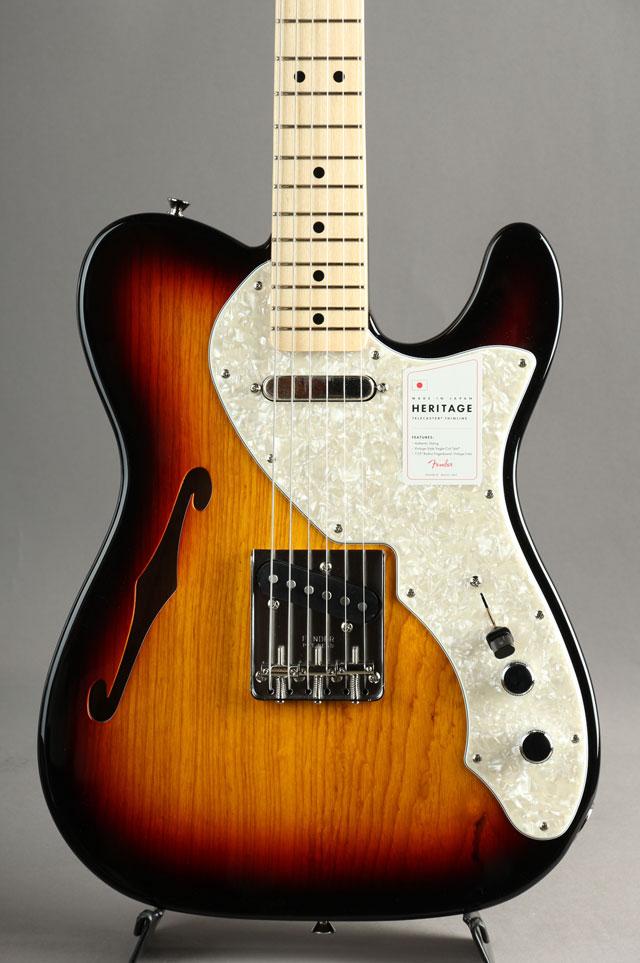 Made in Japan Heritage 60s Telecaster Thinline【S/N JD20001110】