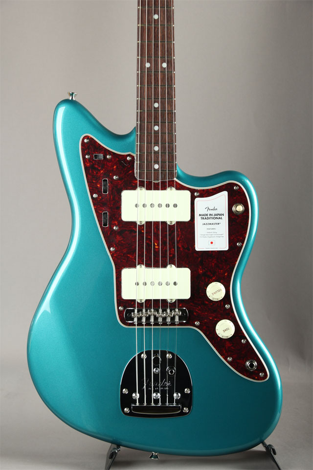 Made in Japan Traditional 60s Jazzmaster Ocean Turquoise Metallic