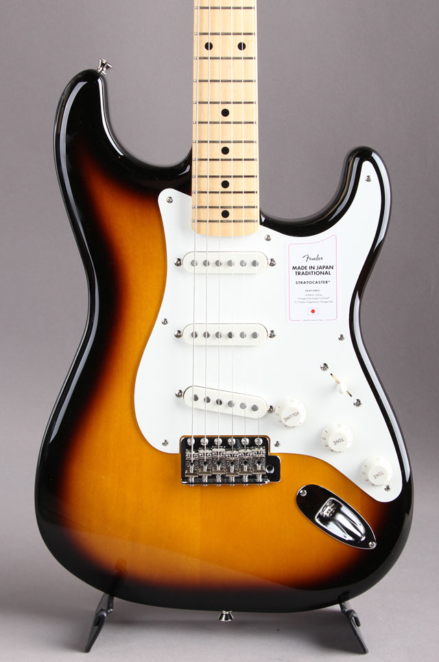 Made in Japan Traditional 50s Stratocaster  2-Color Sunburst