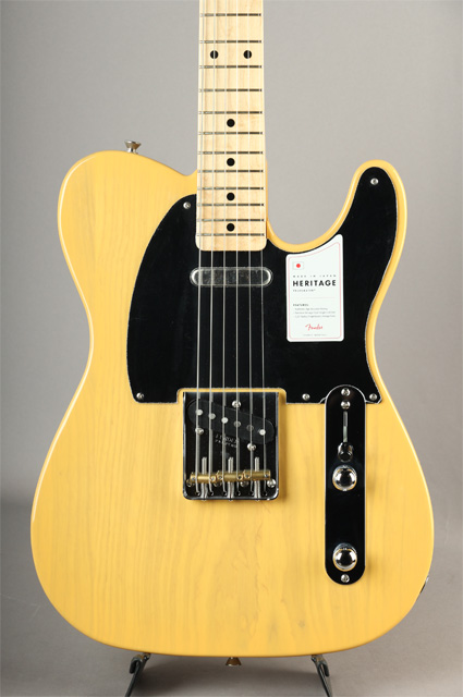 Made in Japan Heritage 50s Telecaster Butterscotch Blonde