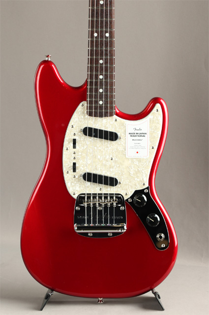 Made in Japan Traditional 70s Mustang Candy Apple Red