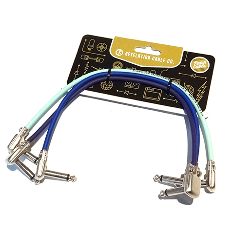 "SP400 Patch cable 12"" 3本SET[Aqua/Purple/Blue]"