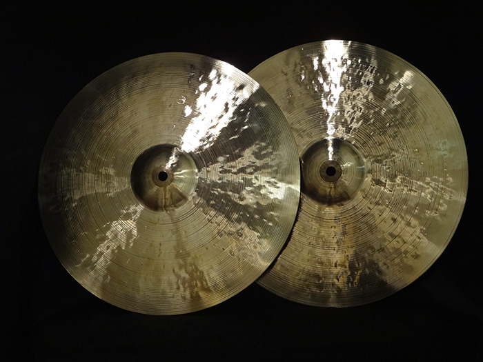 "Vintage Series 14"" Hi-hats pair  1061g,1123g"