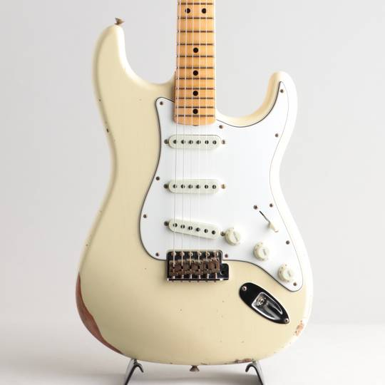 Limited Edition 1968 Stratocaster Relic/Faded Vintage White【S/N:CZ548304】