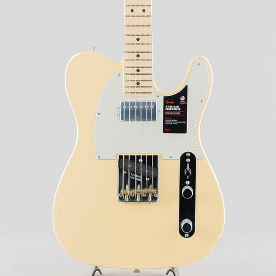 American Performer Telecaster Hum/Vintage White/M