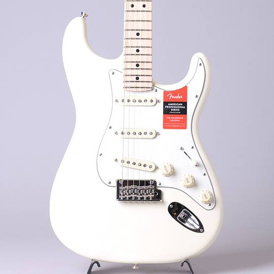 American Professional Stratocaster/Olympic White/M【S/N:US19054467】