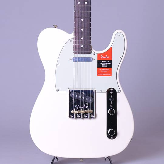 American Professional Telecaster/Olympic White/R【S/N:US19053087】