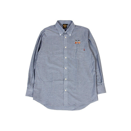 """Incredible Bongo"" Shirt / DENIM"