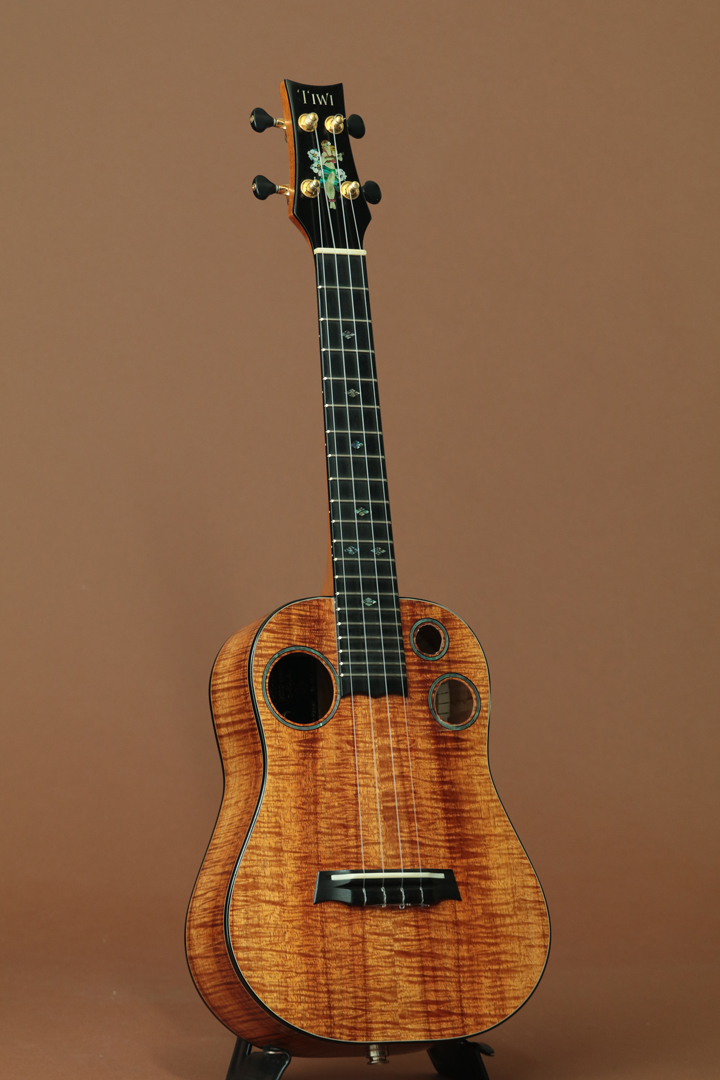 Gold Series Master Grade Hawaiian Koa Tenor