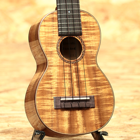 Hawaiian Koa Soprano Long Neck