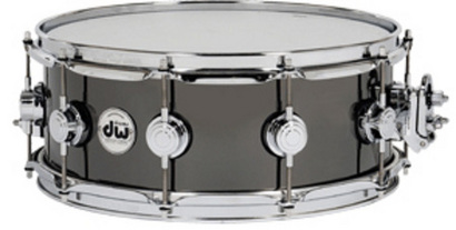 DW-BNB1455SD/BRASS/C Collector's Metal Snare / Black Nickel Over Brass