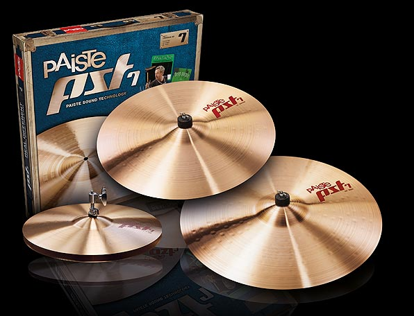 "PST-7 UNIVERSAL SET 14"" Hats / 16"" Crash / 20"" Ride"