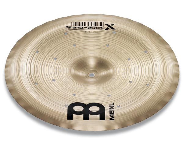"【新品特価30%OFF!】GX-12FCH Generation X Thomas Lang's signature cymbal 12"" Filter China"