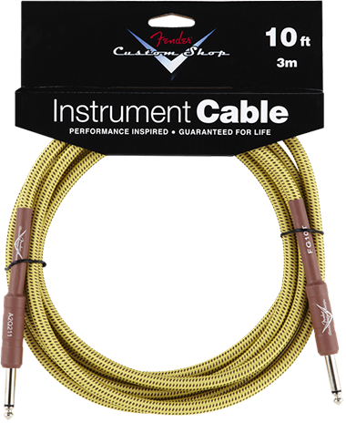Performance Series Cable (Straight-Straight Angle) 10ft/3m Tweed