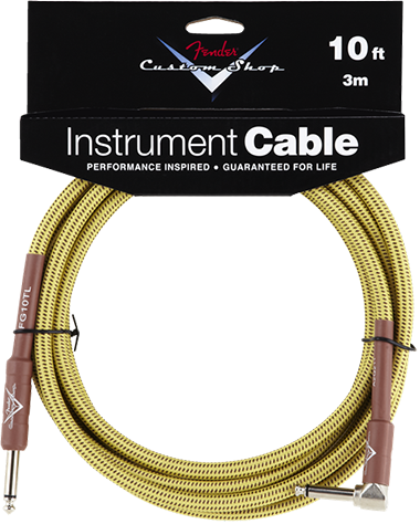 Performance Series Cable (Straight-Right Angle) 10ft/3m Tweed