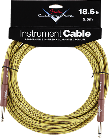 Performance Series Cable (Straight-Straight Angle) 18.6ft/5.5m Tweed