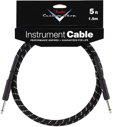 Performance Series Cable (Straight-Straight Angle) 5ft/1.5m Black