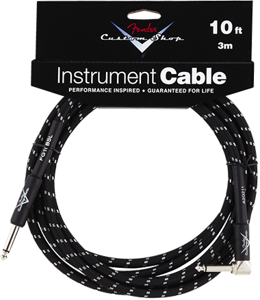 Performance Series Cable (Straight-Right Angle) 10ft/3m Black