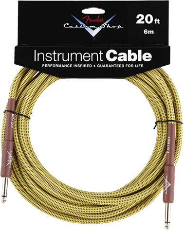 Performance Series Cable (Straight-Straight Angle) 20ft/6m Tweed
