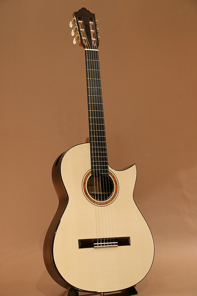 Nylon Crossover Electric Brazilian Rosewood