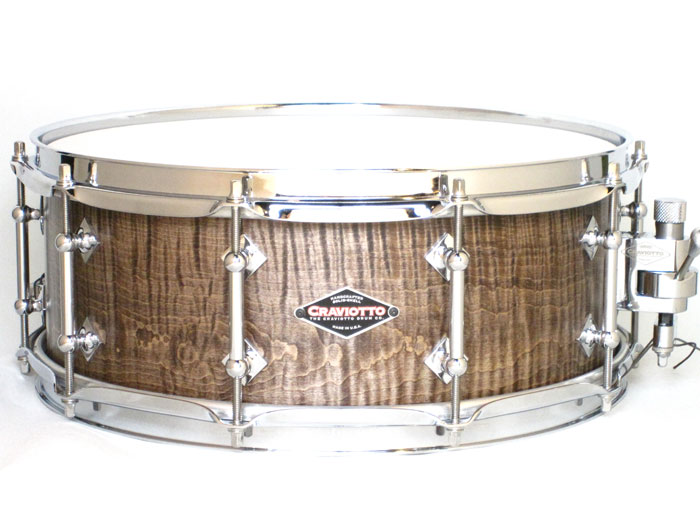 "Custom Shop Curly Maple Saltain satain 14""×5,5"""