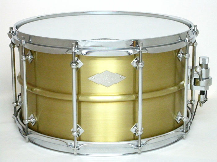 "【世界限定25台限定】Master Metal brass snare Drum 14""×8"""