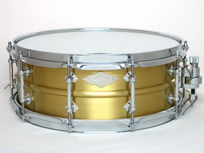 "【世界限定40台限定】Master Metal brass snare Drum 14""×5,5"""