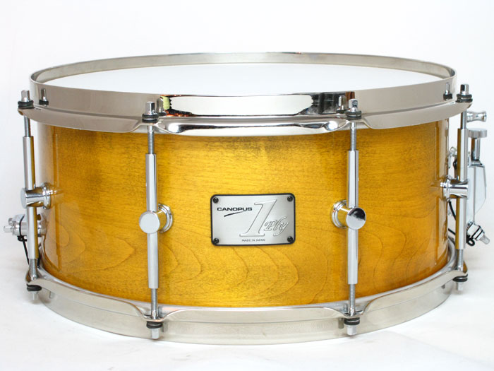 SSSM-1465SH 1ply Soft Maple Brass Straight Hoop Model