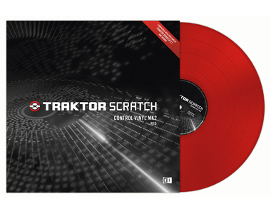 TRAKTOR SCRATCH PRO2/DUO2用コントロール・レコード MK2 / RED