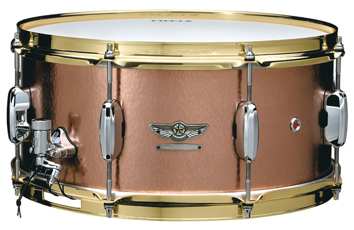 TCS1465H HAND HAMMERED COPPER STAR Reserve Snare Drum