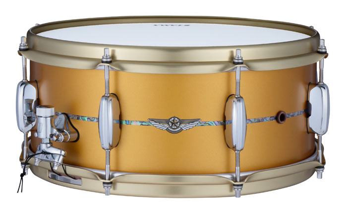 TBS146I-SAM STAR BUBINGA SNARE DRUM Limited / 10台限定品
