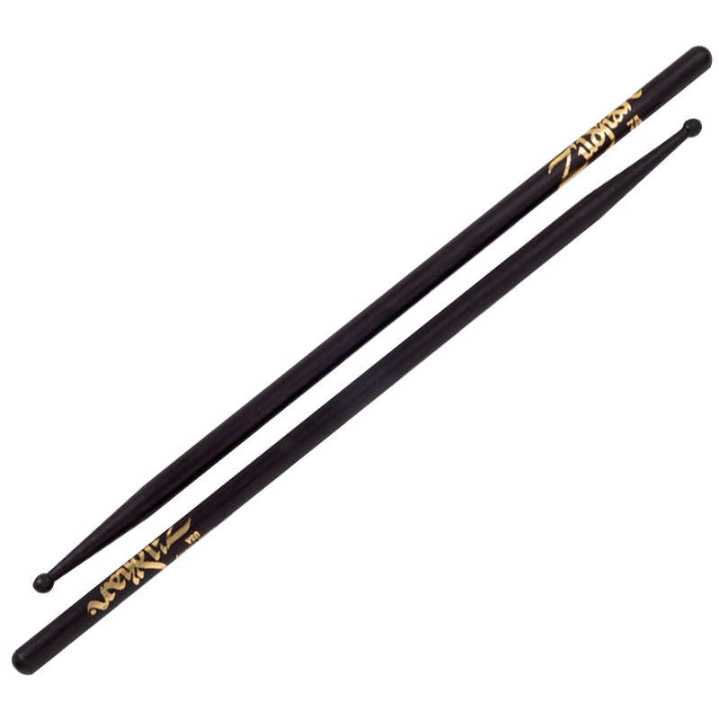 7A WOOD - BLACK DRUMSTICK
