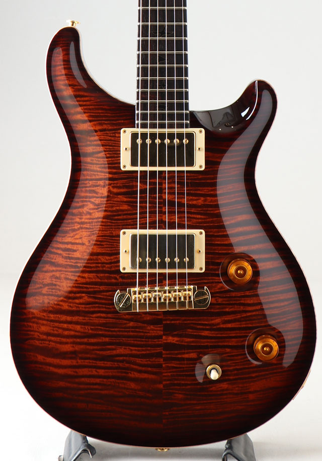 Private Stock #2374 Modern Eagle Burnt Orange Smoked Burst