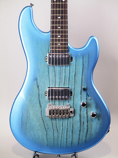 Liquid-2 / See Through Metalic Blue Burst