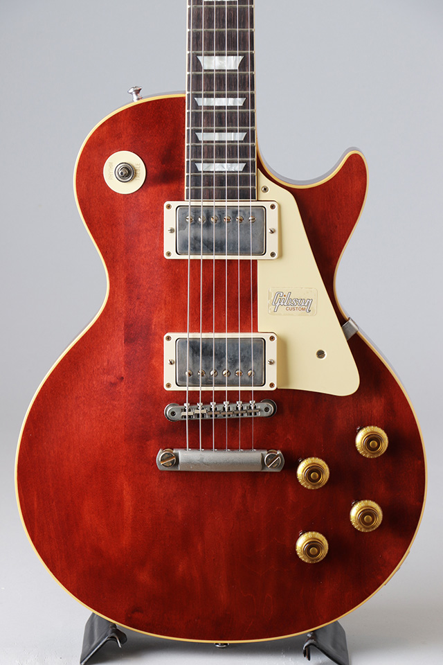 Historic Collection 1957 Les Paul Standard Off-Center Plain Maple Top Viking Red VOS【S/N:7 8819】