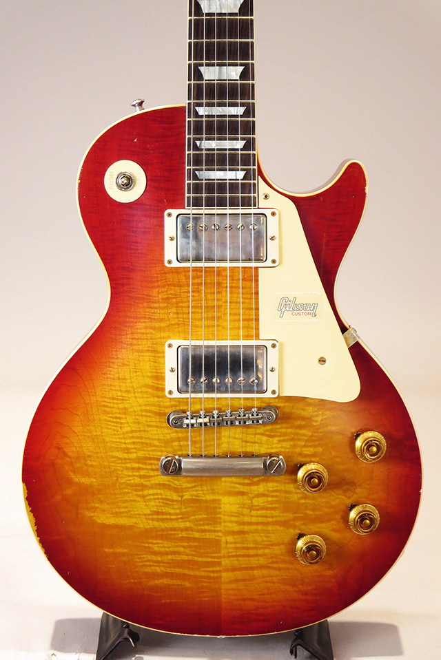 Historic Collection 1958 Les Paul Standard Hard Rock Maple Lightly Aged Crimson Burst 【S/N:8 8914】