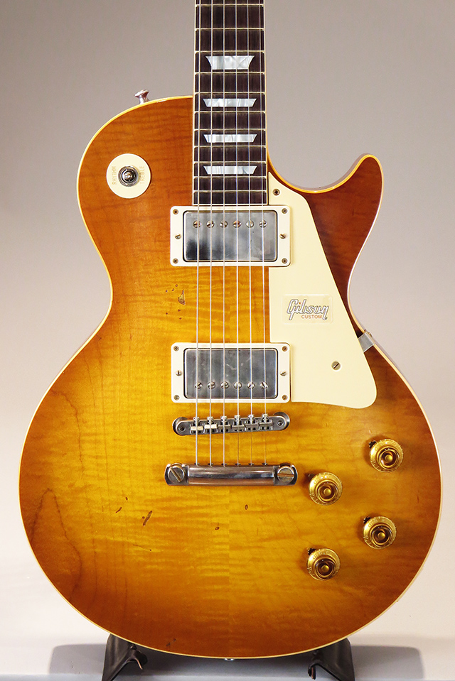 Historic Collection 1958 Les Paul Standard Hard Rock Maple Heavy Aged DoubleDirtyLemon [S/N:8 81018]
