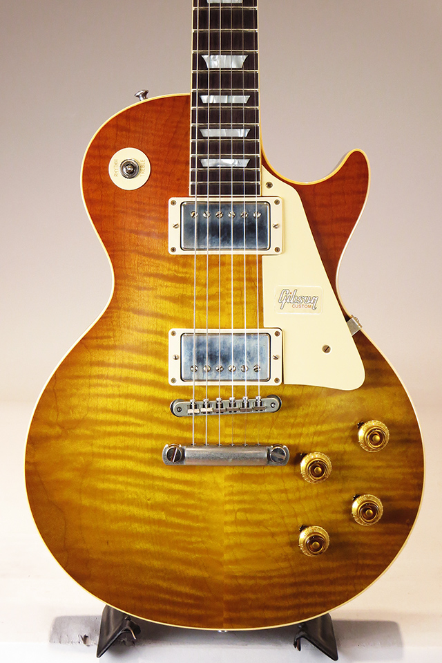 Historic Collection 1959 Les Paul Standard Hand Select Top Golden Poppy Burst VOS  S/N:982530