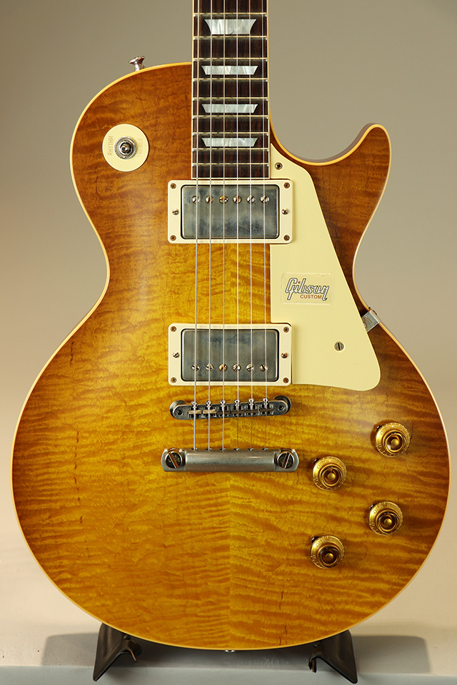 Historic Collection 1959 Les Paul Standard Hand Select Top Honey Lemon Fade VOS  S/N:983363 2018
