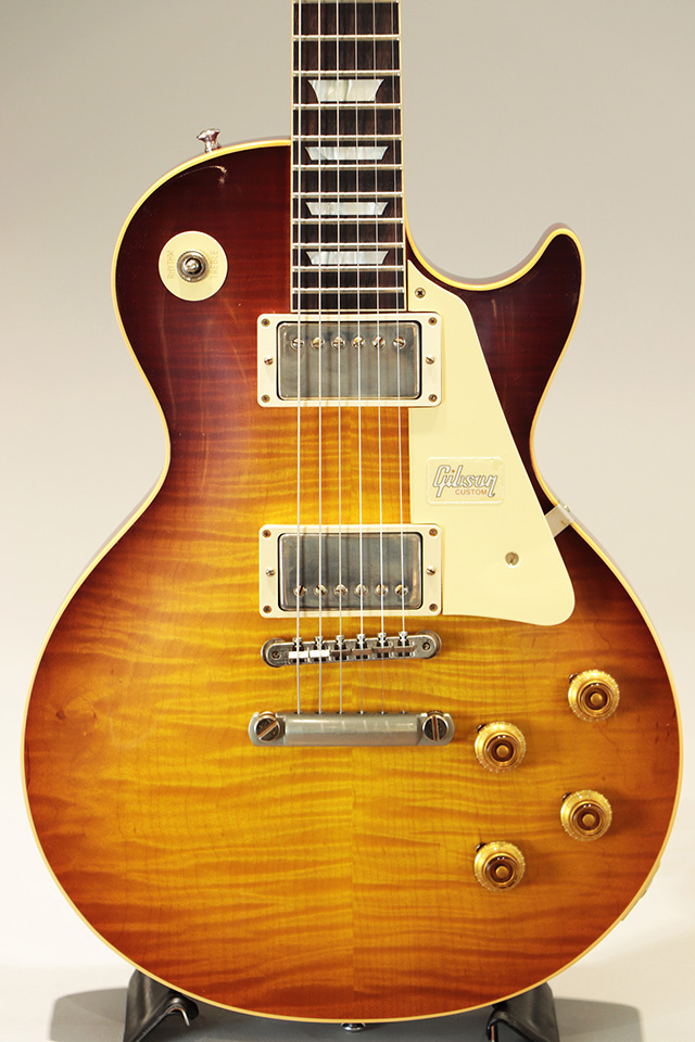 Historic Collection 1959 Les Paul Standard Hand Select Top Slow Ice Tea Fade VOS【SN:983400】