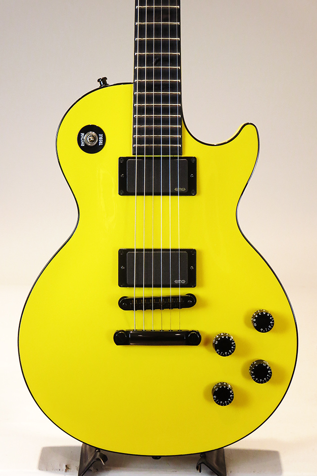 Les Paul Custom Chambered Black Out Diablo Yellow 【現地選定品】