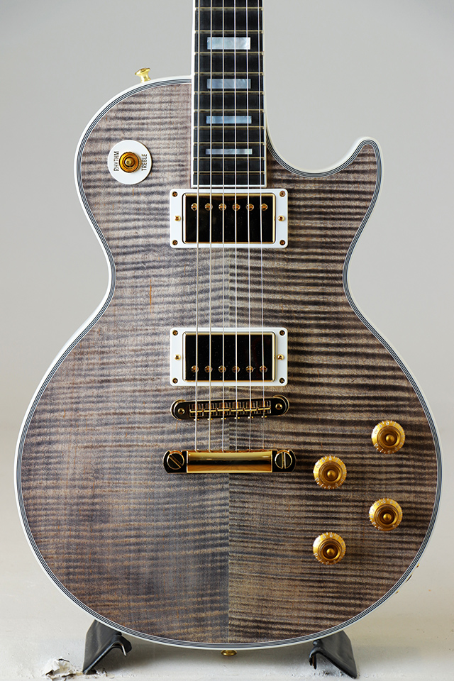 Les Paul Custom Figured Top / Snow Tiger 【S/N:CS800723】【現地選定品】2018