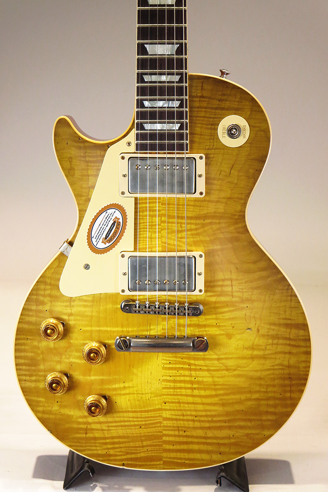 "True Historic 1959 Les Paul Standard ""Hand Select Top"" Left Hand Aged Danger Burst 【S/N:971163】"