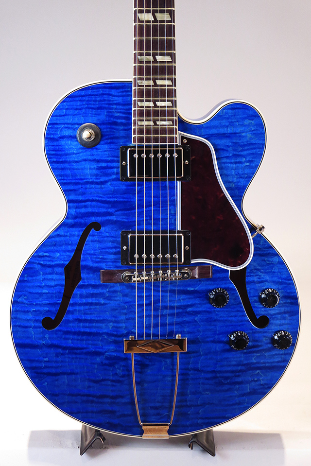 "ES-275 Custom Order ""Hand Select Top"" Gloss Blue Stain 2017 【ローン36回無金利】"