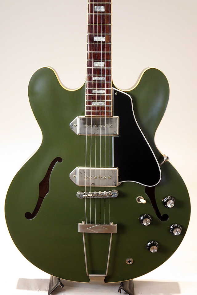 Limited Run ES-330 Olive Drab Green VOS 2018 【S/N:13547714】【ローン36回無金利】