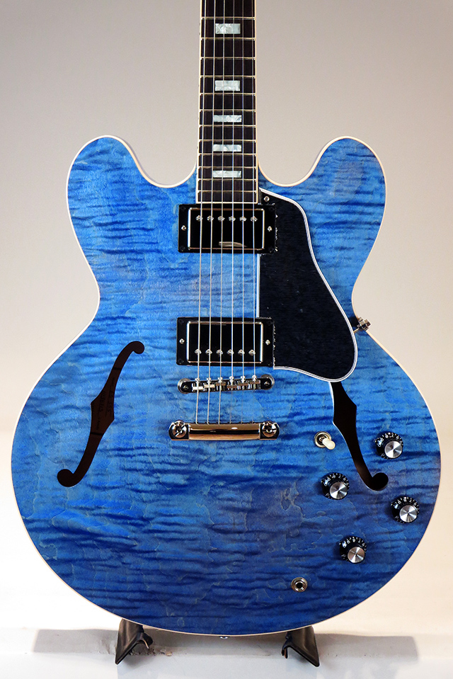 ES-335 Figured Hand Select Top&Back Nordic Blue 2018 [S/N:11138713]
