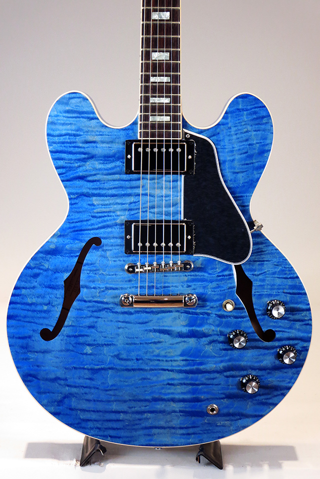 ES-335 Figured Hand Select Top&Back Ocean Blue 2018 [S/N:11138715]