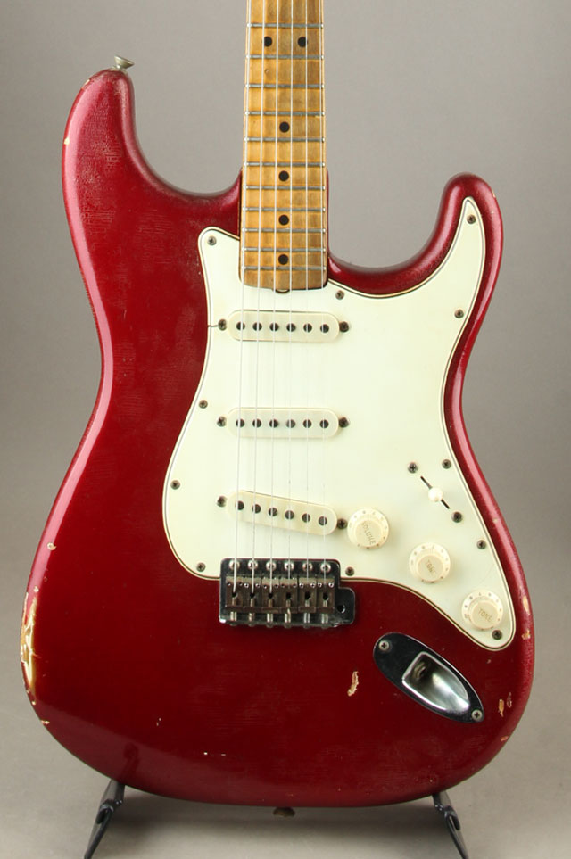1965 Stratocaster Candy Apple Red/Maple Cap