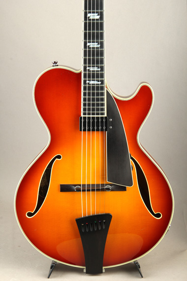 CL JAZZ Amber Sunburst with Kent Armstrong