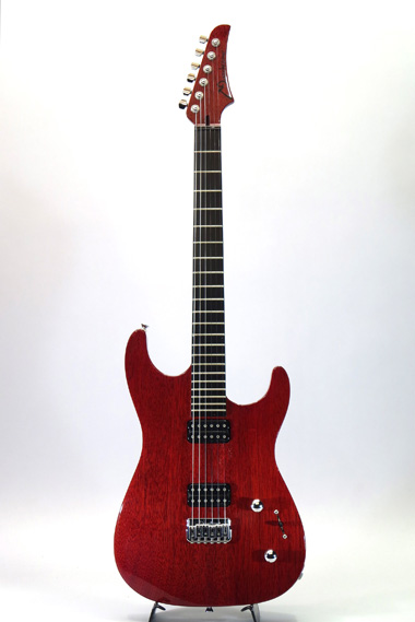 Neck Through Cherry Red